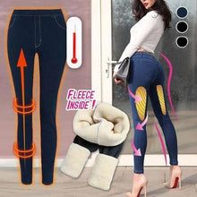 Load image into Gallery viewer, Thermal Fleece Denim Jeggings - 【70% OFF BLACK FRIDAY SALE】