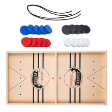Load image into Gallery viewer, Wooden Sling Hockey Game