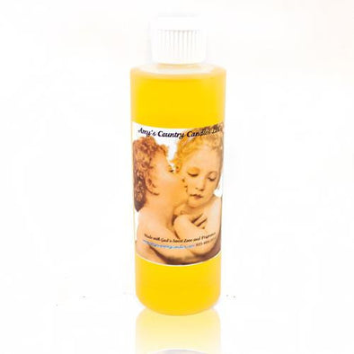 Romantic Amber Pure Oil 10oz Bottle - Amy's Country Candles