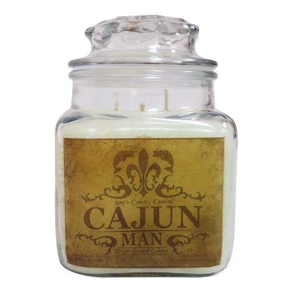 Cajun Man 36oz Canister - Amy's Country Candles