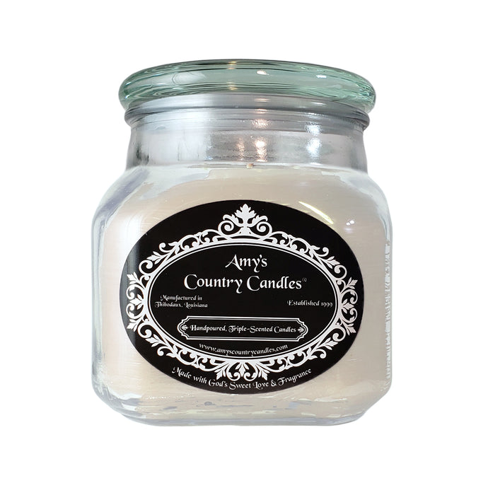 Gardenia 36oz Canister-Expect a delay in shipping this item - Amy's Country Candles