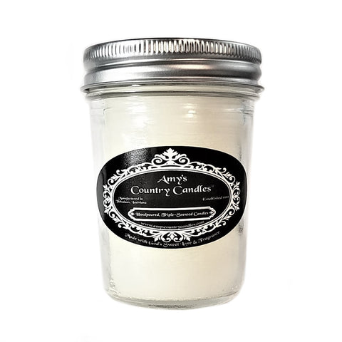 Baby Powder 8oz Jelly - Amy's Country Candles