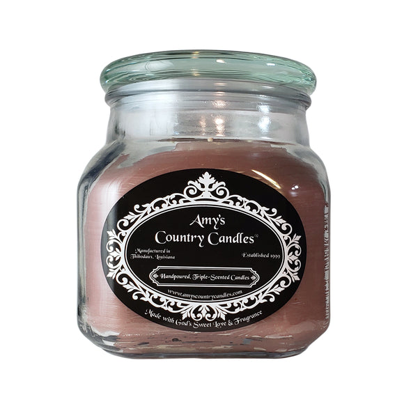 Chocolate Brownie 36oz Canister - Amy's Country Candles