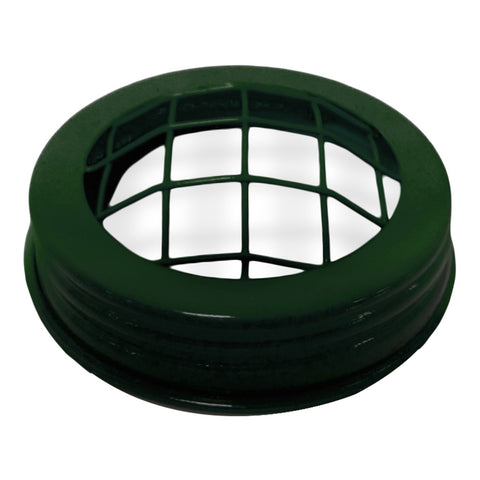 Green Decorative Mason Frog Lid - Amy's Country Candles