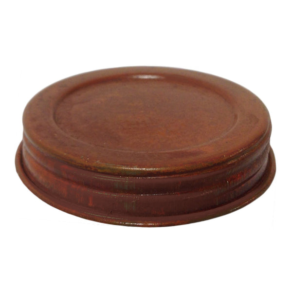 Rustic Decorative Mason Lid - Amy's Country Candles