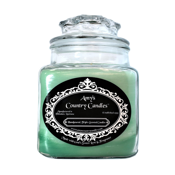 Eucalyptus Spearmint 36oz Canister - Amy's Country Candles
