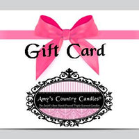 Amy's Country Candles Gift Card - Amy's Country Candles