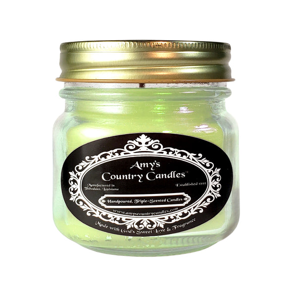 God's Gentle Breeze 8oz Jelly Jar Candle