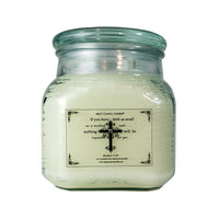 Believe - Matthew 17:20 - 36oz Canister - Amy's Vanilla Sugar Cookie®