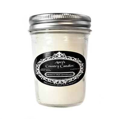 Romantic Amber 8oz Jelly Candle