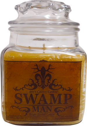 Swamp Man 36oz Canister - Amy's Country Candles