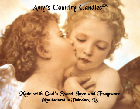 Angels Kiss 1 - Special Label Only - Amy's Country Candles