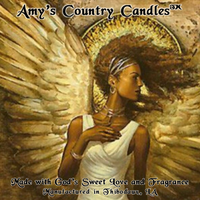 Angel Gold 1 - Special Label Only - Amy's Country Candles