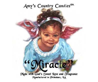 Miracle Baby 1 - Special Label - Amy's Country Candles