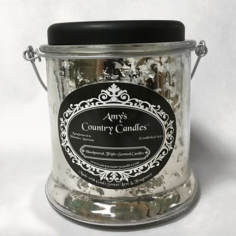 All New Mercury 32 oz Canister - Magnolia - Amy's Country Candles