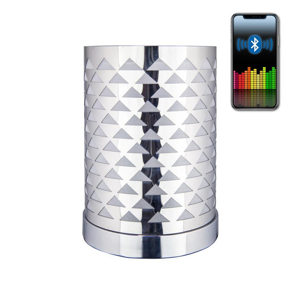 Electric Oil Warmer - Color Changing 3-in-1 Bluetooth Speaker & Night Light - Amy's Country Candles