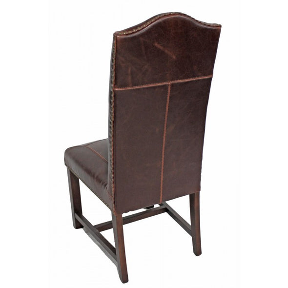 Amy's Romantic Leather Side Chair - Amy's Country Candles