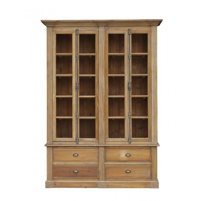 Amy's Romantic Natural Pine Bookcase - Amy's Country Candles