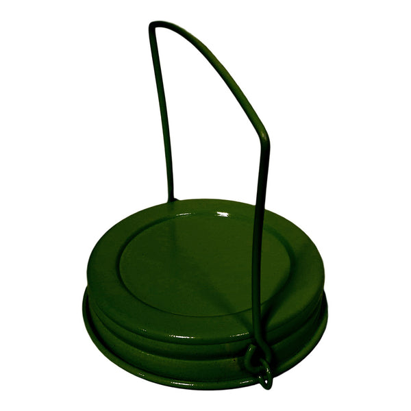 Lid - Green Decorative Mason Hanger - Amy's Country Candles