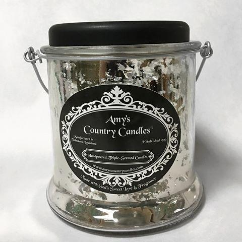 Mulberry - 32oz Mercury Canister - Amy's Country Candles