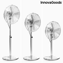 Load image into Gallery viewer, Freistehender Ventilator Chrome Retro InnovaGoods Ø 40 cm 55W