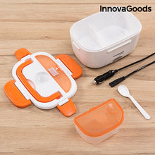 Load image into Gallery viewer, InnovaGoods 40W 12 V Elektrische Lunchbox für Autos Weiß Orange