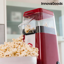 Load image into Gallery viewer, InnovaGoods Hot & Salty Times Heißluft Popcornmaschine 1200 W  Rot