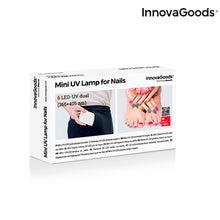 Laden Sie das Bild in den Galerie-Viewer, InnovaGoods LED UV Pocket Nagellampe