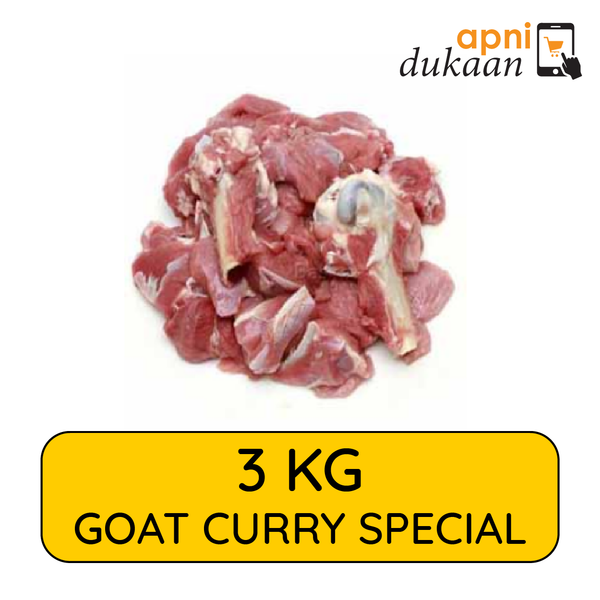 Goat Curry Pieces 3kg - Special - Apni Dukaan