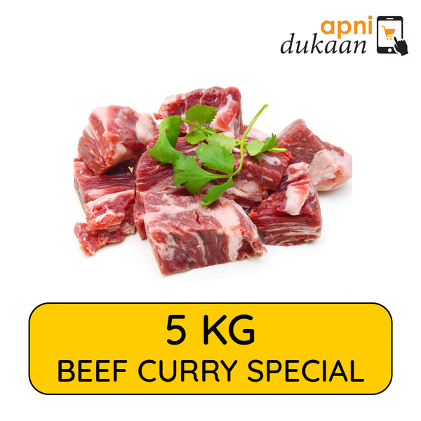 Beef Curry Pieces 5kg - Special - Apni Dukaan