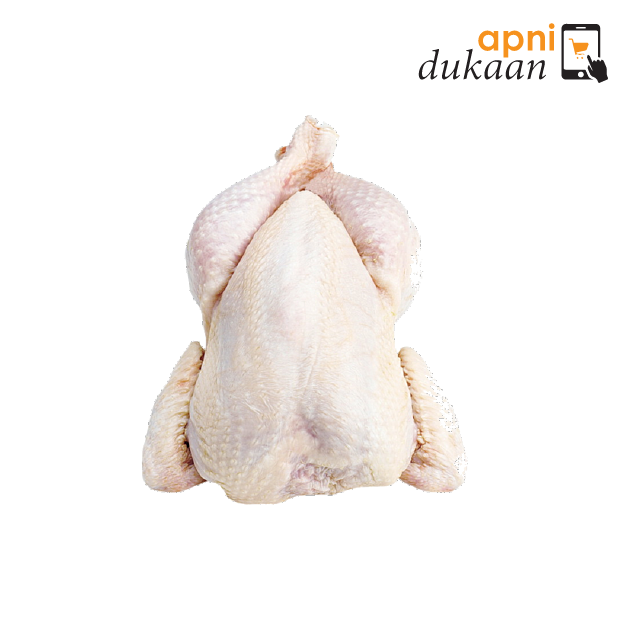 Whole Chicken - Size 10 Skin Off - Apni Dukaan