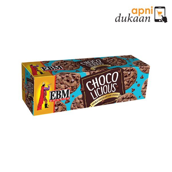 EBM Chocolicious Biscuits - Apni Dukaan