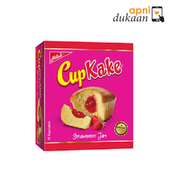 Hilal Cupcake Strawberry 12 pcs - Apni Dukaan