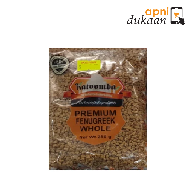 Katoomba Premium Fenugreek Whole 500gm - Apni Dukaan