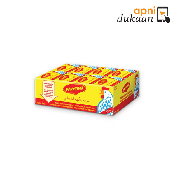 Maggi Chicken Stock Cube - 24 pack - Apni Dukaan