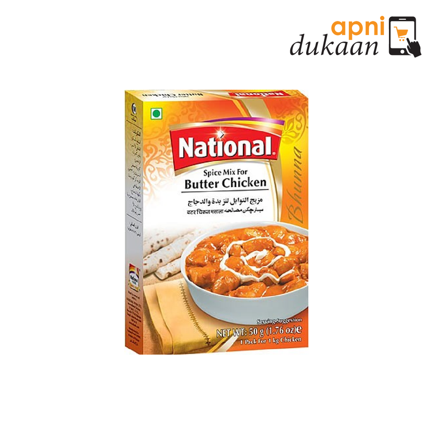 National Butter Chicken Mix 50g - Apni Dukaan