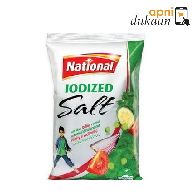 National Iodised 800G - Apni Dukaan