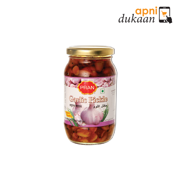 Pran Garlic Pickle 400g - Apni Dukaan