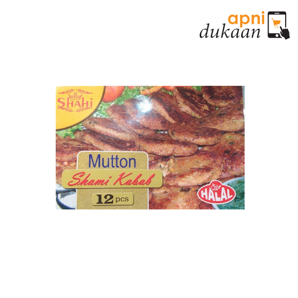 Shahi Mutton Shami Kabab- 12 Pieces - Apni Dukaan