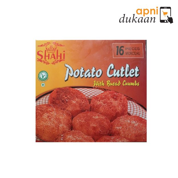 Shahi Potato Cutlet - 16 Pieces - Apni Dukaan