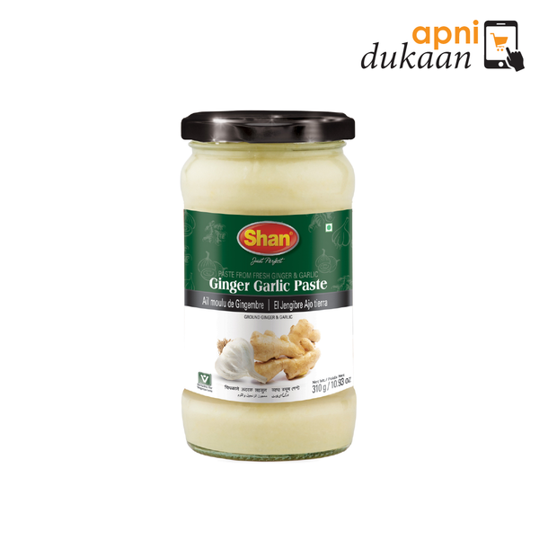 Shan Ginger Garlic Paste 310g - Apni Dukaan
