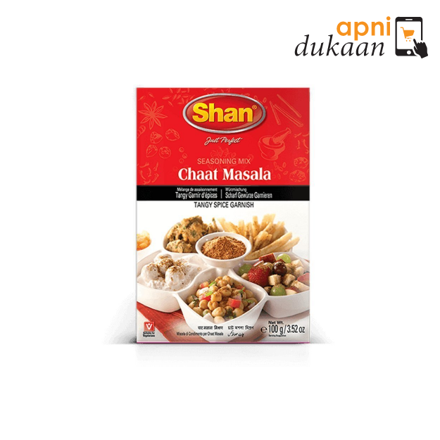 Shan Seasoning Mix Chat Masala 100g - Apni Dukaan