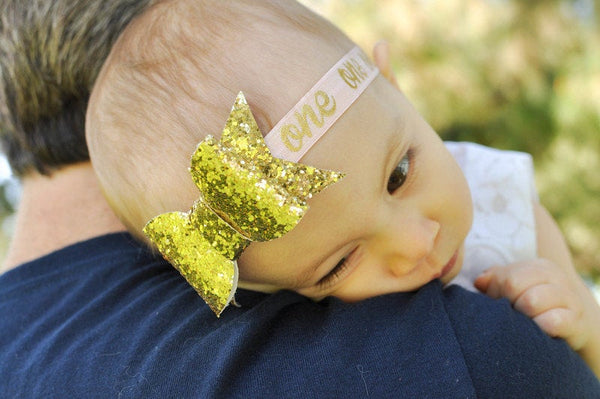 First Birthday Headband, One Headband, First Birthday, Toddler Headband, First Birthday Outfit Girl, 1st Birthday Girl