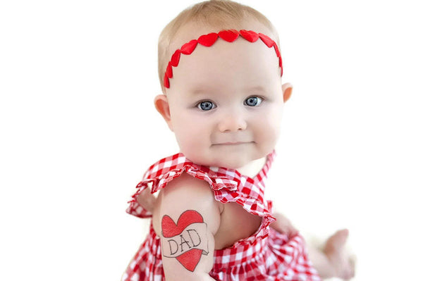 Valentines Day Hair Accessories, Red Heart Headband, Valentines Headband, Baby Valentine Headband, Heart Headband, Toddler Headband