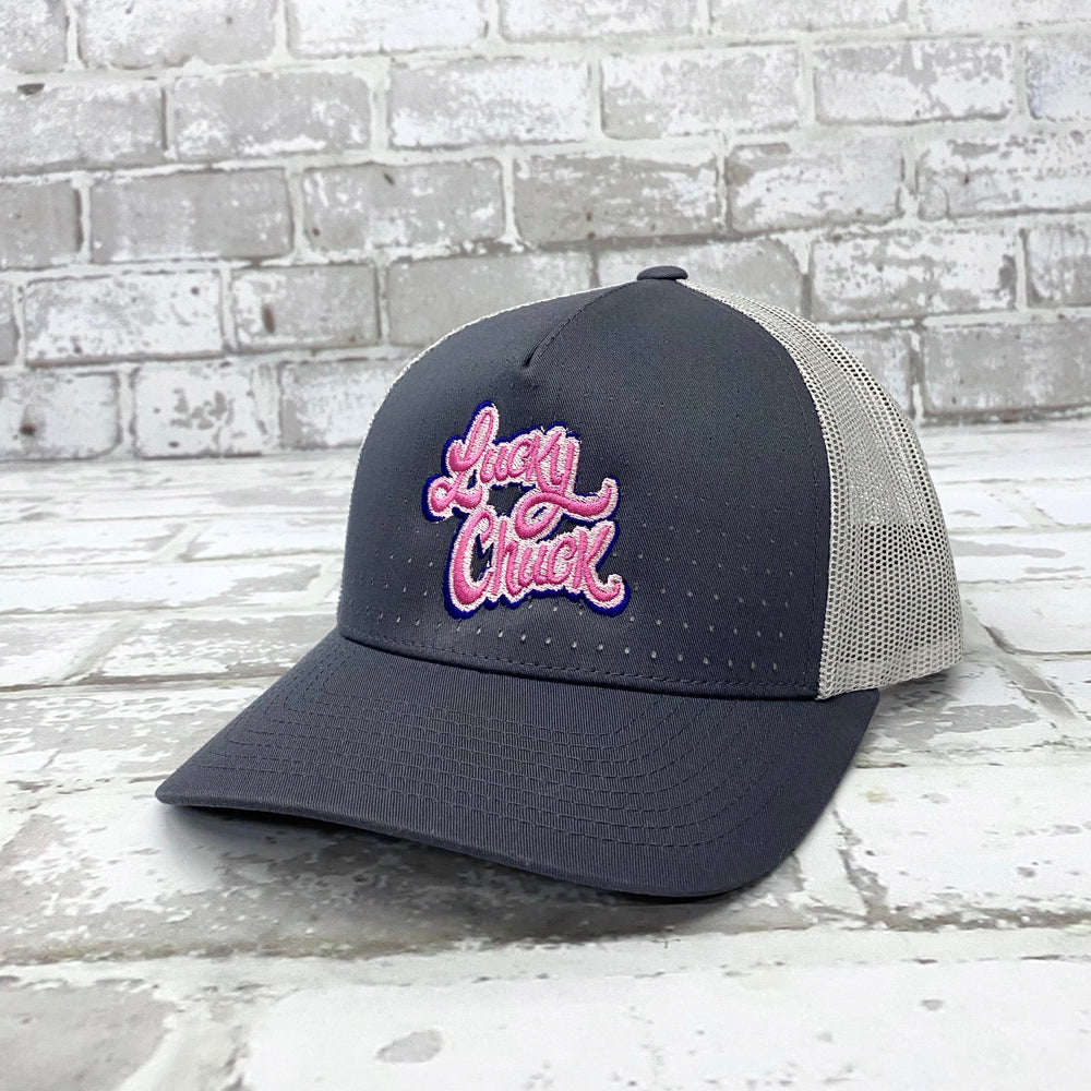 Bubble Gum Lucky Chuck Perforated Hat