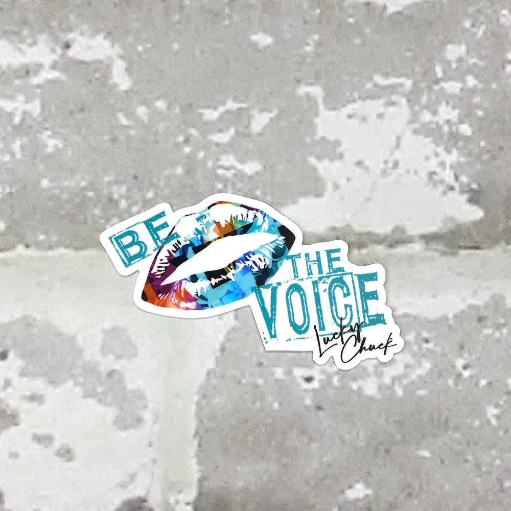Be the Voice Sticker