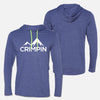 CRIMPIN Hooded Long Sleeve Tee Unisex
