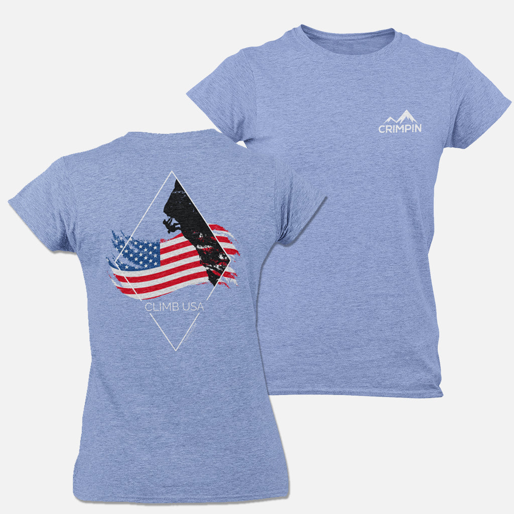 Climb USA Women's T-Shirt