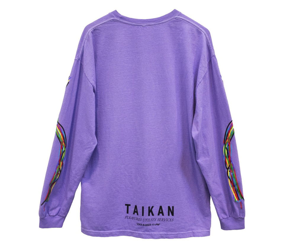 PLEASURES LONG SLEEVE LAVENDER