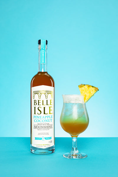 Southside Sling - Belle Isle Pineapple Coconut cocktail recipe